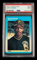 Barry Bonds 1987 Fleer Glossy #604 (PSA 9) at PristineAuction.com