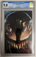 """2021 """"Carnage: Black, White, & Blood"""" Issue #1 Unknown Comic Books Exclusive Virgin Variant Marvel Comic Book (CGC 9.8) at PristineAuction.com"""
