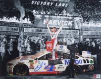 Kevin Harvick Signed 2019 NASCAR - AAA Texas 500 Win - 11x14 Photo (PA COA) at PristineAuction.com