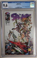 """1993 """"Spawn"""" Issue #9 Image Comic Book (CGC 9.6) at PristineAuction.com"""