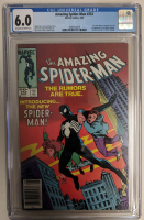 """1984 """"The Amazing Spider-Man"""" Issue #252 Marvel Comic Book (CGC 6.0) at PristineAuction.com"""