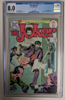 """1975 """"The Joker"""" Issue #1 DC Comic Book (CGC 8.0) at PristineAuction.com"""