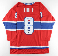 """Dick Duff Signed Jersey Inscribed """"H.O.F. 2006"""" (COJO COA) at PristineAuction.com"""