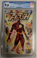 """2006 """"Flash: The Fastest Man Alive"""" Issue #2 DC Comic Book (CGC 9.6) at PristineAuction.com"""