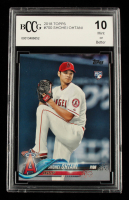 Shohei Ohtani 2018 Topps #700 RC (BCCG 10) at PristineAuction.com