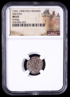 (1201-1300) Ancona, Italy Denaro Medieval Coin (NGC MS62) at PristineAuction.com