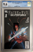 """2009 """"Faces of Evil: Deathstroke"""" Issue #1 DC Comic Book (CGC 9.6) at PristineAuction.com"""