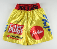 Manny Pacquiao Signed Boxing Shorts (Pacquiao COA) at PristineAuction.com