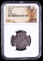 Philip IV (1621-1665) Spanish Netherlands 3 Stuivers Medieval Silver Coin (NGC VF30) at PristineAuction.com