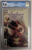 """2018 """"Venom"""" Issue #7 Marvel Comic Book (CGC 9.6) at PristineAuction.com"""