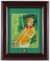 """LeRoy Neiman """"Jack Nicklaus At The Masters"""" 14x17 Custom Framed Print Display (See Description) at PristineAuction.com"""