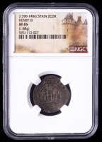 Henry III (1390-1406) Spain 2 Cornados Medieval Coin (NGC XF45) at PristineAuction.com