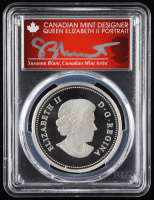 Susanna Blunt Signed 2014 $20 Twenty Dollars The Bull & His Mate First Strike Canadian Coin (PCGS PR70DCAM) at PristineAuction.com