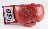"""Manny Pacquiao Signed Everlast Boxing Glove Inscribed """"Pacman"""" (Pacquiao COA) at PristineAuction.com"""