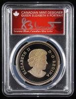 Susanna Blunt Signed 2014 $20 Twenty Dollars Bison - The Fight First Strike Canadian Bullion Coin (PCGS PR70DCAM) at PristineAuction.com