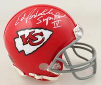 "Ed Podolak Signed Chiefs Mini Helmet Inscribed ""Super Bowl IV"" (JSA COA) at PristineAuction.com"