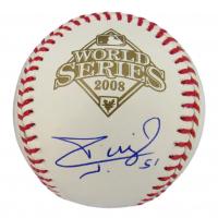 Carlos Ruiz Signed 2008 World Series Basebll (JSA COA) at PristineAuction.com