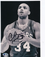 Charles Barkley Signed 76ers 8x10 Photo (Beckett COA) at PristineAuction.com