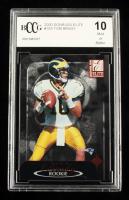 Tom Brady 2000 Donruss Elite #183 RC #923/2000 (BCCG 10) at PristineAuction.com
