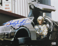 """Christopher Lloyd Signed """"Back to the Future"""" 11x14 Photo (Beckett Hologram) at PristineAuction.com"""