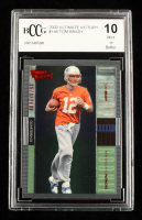 Tom Brady 2000 Ultimate Victory #146 RC #670/2000 (BCCG 10) at PristineAuction.com