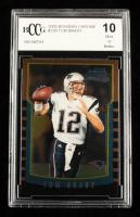 Tom Brady 2000 Bowman Chrome #236 RC (BCCG 10) at PristineAuction.com