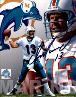 Dan Marino Signed Dolphins 8x10 Photo (JSA COA) at PristineAuction.com
