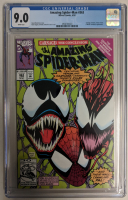 """1992 """"The Amazing Spider-Man"""" Issue #363 Marvel Comic Book (CGC 9.0) at PristineAuction.com"""