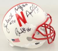 Joel Wilks, Brendan Stai & Aaron Graham Signed Nebraska Cornhuskers Mini Helmet (JSA COA) at PristineAuction.com