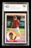 Shohei Ohtani 2018 Topps '83 Topps Silver Pack Chrome #51 (BCCG 10) at PristineAuction.com