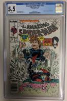 "1989 ""Amazing Spider-Man"" Issue #315 Marvel Comic Book (CGC 5.5) at PristineAuction.com"