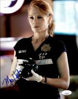 "Marg Helgenberger  Signed ""CSI: Crime Scene Investigation"" 8x10 Photo (JSA COA) at PristineAuction.com"