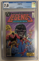 "1986 ""Legends"" Issue #1 DC Comic Book (CGC 7.0) at PristineAuction.com"