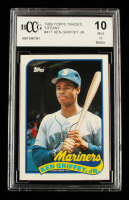Ken Griffey Jr. 1989 Topps Traded Tiffany #41T (BCCG 10) at PristineAuction.com