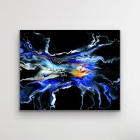 "Cessy ""Azure"" 32x24 Print at PristineAuction.com"