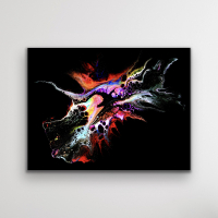 """Cessy """"Combustion"""" 24x32 Print at PristineAuction.com"""