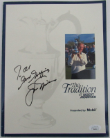 Jack Nicklaus Signed 1991 U.S. Open Players Guide (JSA COA) at PristineAuction.com