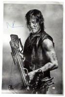 """Norman Reedus Signed """"The Walking Dead"""" 24x36 Canvas Print (JSA COA) at PristineAuction.com"""