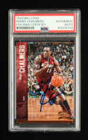 Mario Chalmers Signed 2012-13 Panini Threads #79 (PSA Encapsulated) at PristineAuction.com