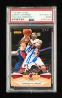Mario Chalmers Signed 2009-10 Panini #131 (PSA Encapsulated) at PristineAuction.com