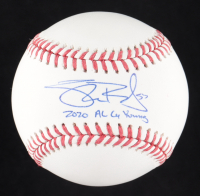 """Shane Bieber Signed OML Baseball Inscribed """"2020 AL Cy Young """" (Beckett Hologram) at PristineAuction.com"""
