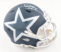Deion Sanders Signed Cowboys AMP Alternate Speed Mini Helmet (Beckett COA) at PristineAuction.com
