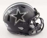 Deion Sanders Signed Cowboys Eclipse Alternate Speed Mini Helmet (Beckett COA) at PristineAuction.com
