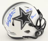 "Danny White Signed Cowboys Lunar Eclipse Alternate Speed Mini Helmet Inscribed ""SB XII Champs"" (JSA COA) at PristineAuction.com"