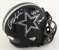 """Danny White Signed Cowboys Eclipse Alternate Speed Mini Helmet Inscribed """"SB XII Champs"""" (JSA COA) at PristineAuction.com"""