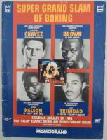 1994 MGM Grand Las Vegas Official Boxing Program at PristineAuction.com