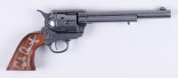"Emilio Estevez Signed ""Young Guns"" Denix Colt Calvary Prop Revolver (JSA COA) at PristineAuction.com"