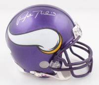 Adam Thielen Signed Vikings Mini Helmet (JSA COA) at PristineAuction.com