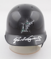 Ivan Rodriguez Signed Marlins Mini Helmet with Stand (JSA COA) at PristineAuction.com