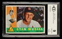 Stan Musial 1960 Topps #250 (BCCG 9) at PristineAuction.com